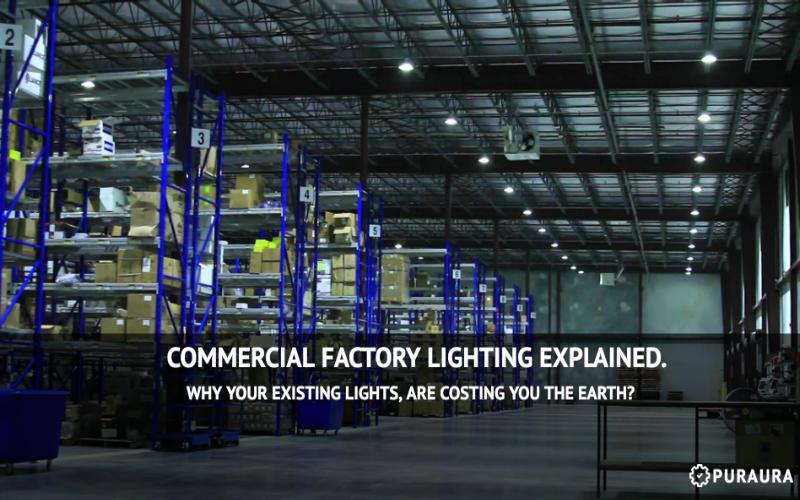 Commercial Led High Bay Factory Lights Puraura